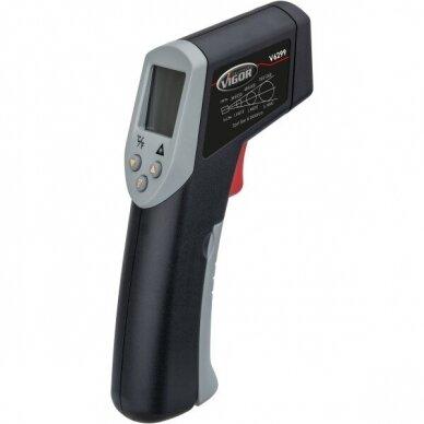 Skaitmeninis termometras nuo -35°C iki +630°C 3
