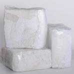 Šluostės pramoninės skudurai valymui 10kg balti