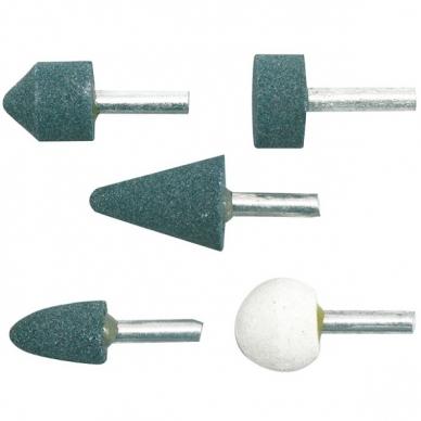 Šlifavimo akmenų rinkinys 5 dalių