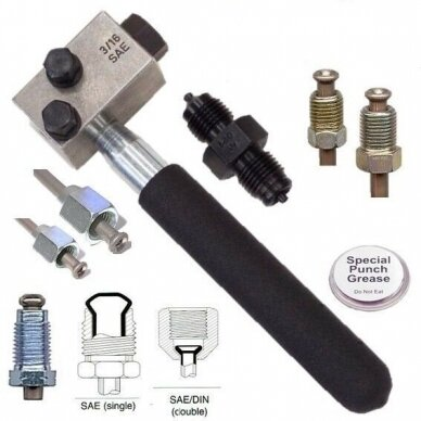 """Stabdžių vamzdelių valcavimo įrankis 3/16"""" SAE 4.75mm 2"""