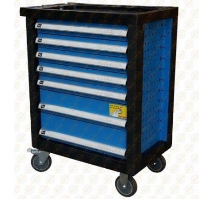 Vežimėlis įrankiams 7 stalčių