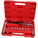 Vožtuvų riebokšlių nuėmimo uždėjimo įrankių rinkinys