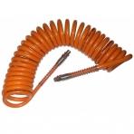 Žarna oro spiralinė 10m 10x6.5mm su greitomis jungtimis